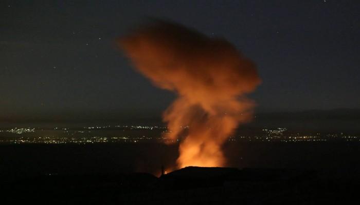 قوات الأسد تعلن التصدي لقصف إسرائيلي على دمشق