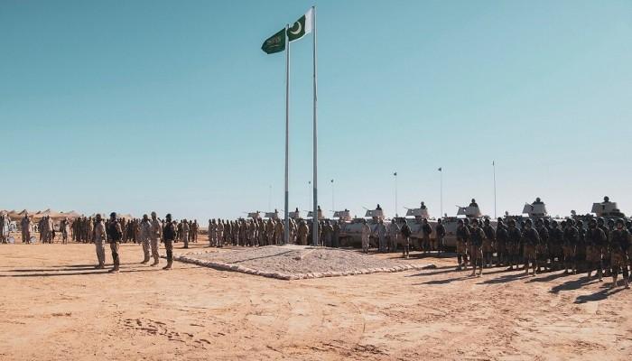 انطلاق مناورات الصمصام7 بين القوات السعودية والباكستانية