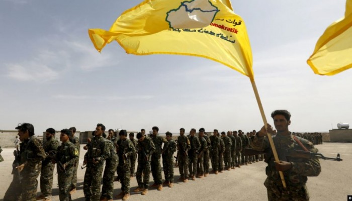 قسد تطلب مساعدة قوات الأسد لمواجهة الجيش التركي