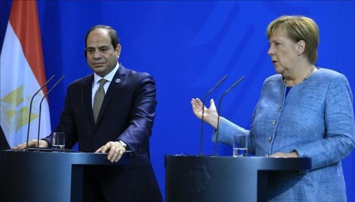 ميركل: نتابع عن كثب أوضاع حقوق الإنسان في مصر