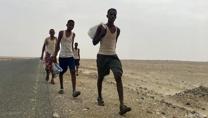 المهاجرون إلى اليمن أكثر من عابري المتوسط إلى أوروبا