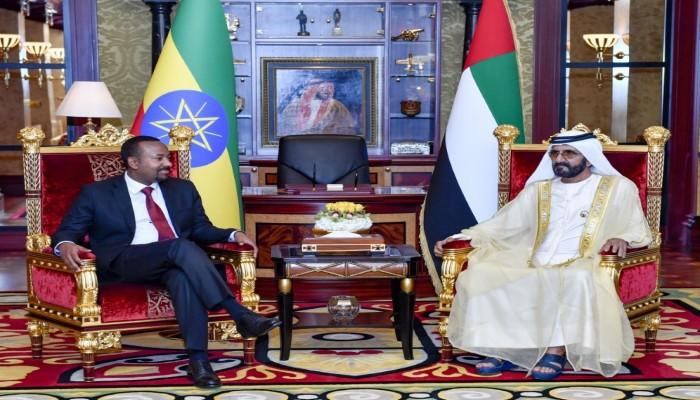 الإمارات تتعهد بمساعدات لوجيستية لإثيوبيا