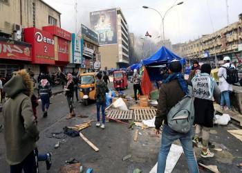 مسلحون يقتلون متظاهرا داخل خيمة اعتصام ببغداد