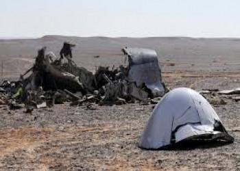 ولاية سيناء ينشر تسجيلا لحطام مقاتلة مصرية برفح (فيديو)