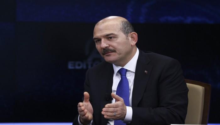 وزير الداخلية التركي: حزين لترحيل معارض مصري لبلاده خطأ