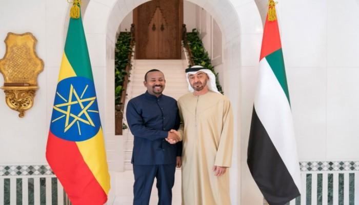 بن زايد وآبي أحمد يبحثان العلاقات الثنائية بين البلدين