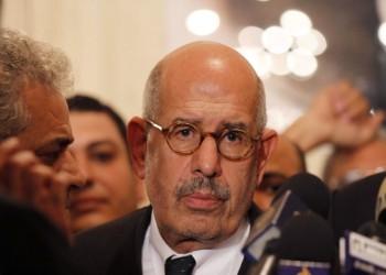 البرادعي: تآمر العالم على العرب غير دقيق