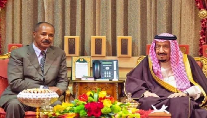 الملك سلمان يبحث مع الرئيس الإريتري مستجدات القرن الأفريقي