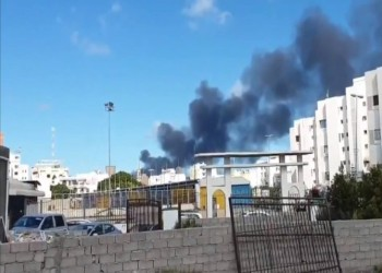 """ميليشيات """"حفتر"""" تقصف ميناء طرابلس للمرة الأولى"""
