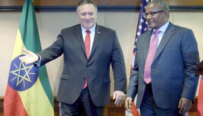 بومبيو: أوشكنا على الانتهاء من صياغة اتفاق سد النهضة