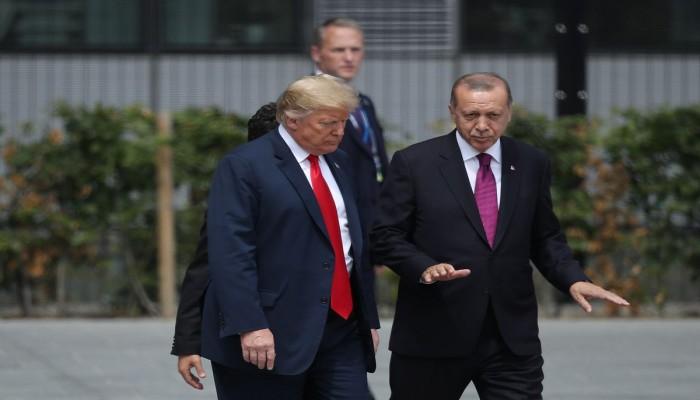 ترامب: أردوغان رجل شديد ولا يريد لأهل إدلب القتل