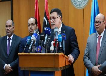 الوفاق الليبية تعلق محادثات وقف إطلاق النار في جنيف