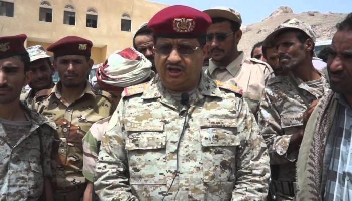 نجاة وزير الدفاع اليمني ومقتل عدد من مرافقيه بانفجار لغم في مأرب