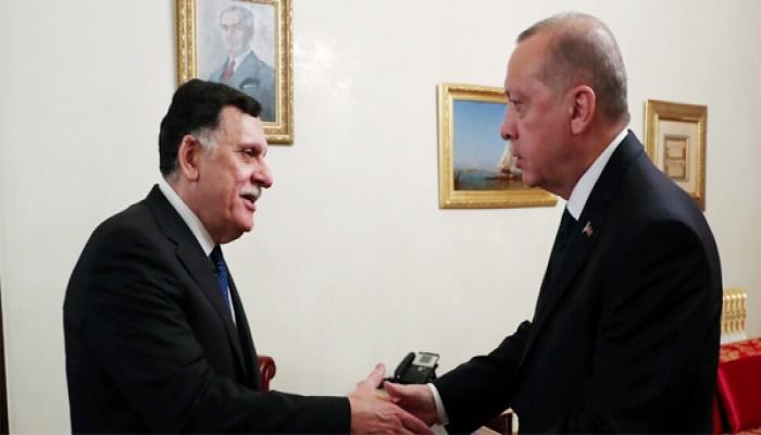 أردوغان يعقد اجتماعا مغلقا مع السراج بإسطنبول