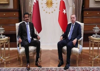 تميم وأردوغان يبحثان العلاقات الثنائية والتطورات الإقليمية