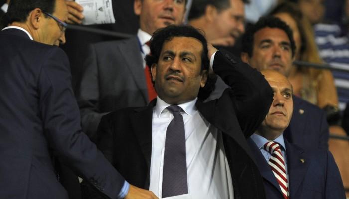 استبعاد شيخ قطري مؤقتا من رئاسة نادي ملقة الإسباني