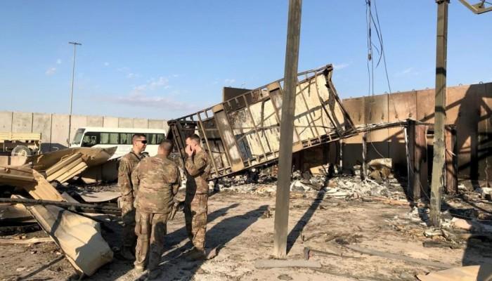 صواريخ إيران تلحق بجنود أمريكا إصابات دماغية (شهادات)