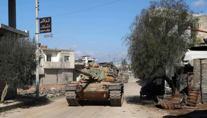روسيا: تركيا دفعت بتعزيزات عسكرية هائلة إلى إدلب