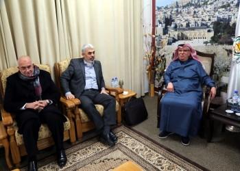السنوار والعمادي يبحثان مشاريعا تمولها قطر في غزة