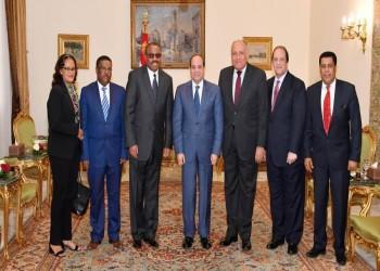 السيسي يستقبل رئيس الوزراء الإثيوبي السابق بالقاهرة