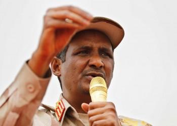 حميدتي ينفي إرسال قوات سودانية للإمارات
