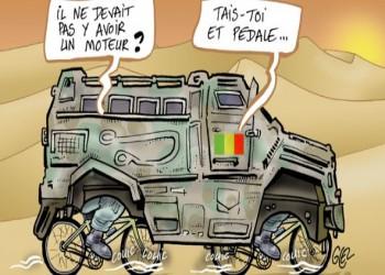 مجلة فرنسية: الإمارات ترسل مدرعات مغشوشة لمالي