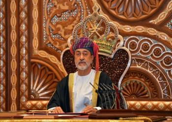 آل سعيد متعهدا بالمضي على خطى قابوس: عمان ستبقى ناشرة للسلام