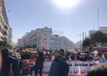 المغرب.. الآلاف يحتشدون بالدار البيضاء إحياء لذكرى 20 فبراير (صور)