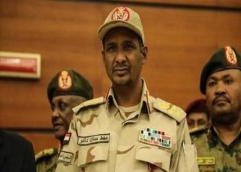 حميدتي يطالب الأمم المتحدة بتنمية دارفور
