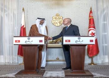 تميم يبحث في تونس العلاقات الثنائية وقضايا المنطقة