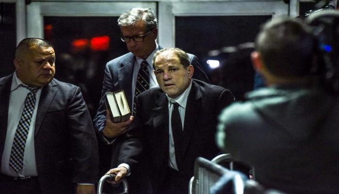 إدانة المنتج السينمائي الأمريكي هارفي واينستين بالاعتداء الجنسي