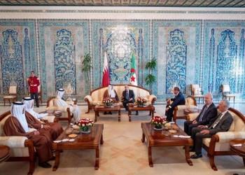 تميم يصل إلى الجزائر لبحث القضايا المشتركة مع تبون