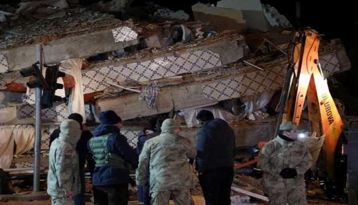 زلزالان يضربان غربي تركيا وحدودها مع إيران