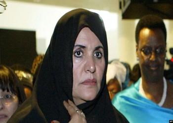 أرملة القذافي تنتقد ترامب بسبب العقوبات على عائلتها