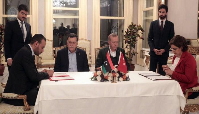 السراج: تعاون الوفاق الليبية مع تركيا حق سيادي