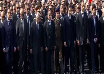 جنازة عسكرية لمبارك بحضور السيسي