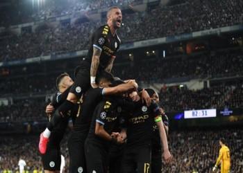 دوري الأبطال.. مانشستر سيتي يفوز على ريال مدريد بملعبه