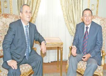 إيهود باراك عن مبارك: قائد مدهش لكن اقتصاده كان فاسدا
