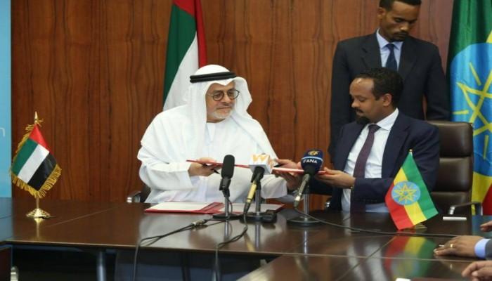 الإمارات توقع اتفاقية بـ100 مليون دولار لدعم مشروعات بإثيوبيا