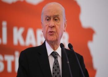 بهتشلي: ندعم الحكومة التركية في كافة قراراتها بشأن هجوم إدلب