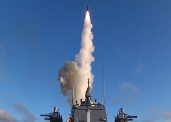 أول تجربة روسية لإطلاق صاروخ أسرع من الصوت من سفينة