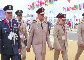 وزير الدفاع المصري يعود للقاهرة بعد زيارة باكستان