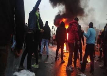 مظاهرات بجنوب إيران خوفا من فيروس كورونا