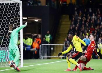 واتفورد يفاجئ ليفربول بأول هزيمة مذلة بالبريميرليج