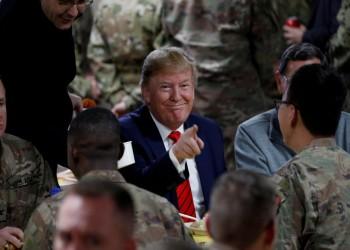 ترامب يعلن بدء سحب القوات الأمريكية من أفغانستان فورا