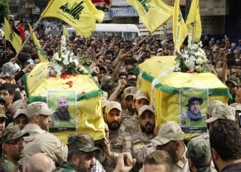 حزب الله يشيع عددا من قتلاه سقطوا بإدلب
