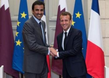 أمير قطر يبحث مع ماكرون المستجدات الإقليمية والدولية