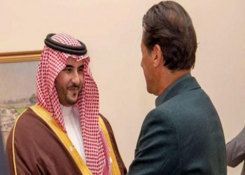 خالد بن سلمان يبحث في باكستان العلاقات الثنائية