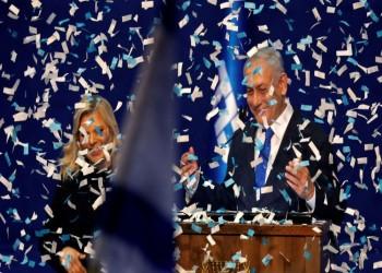 نتنياهو يحتفل بنصر صعب وجانتس يعبر عن خيبة أمل