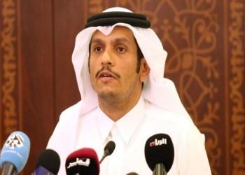 وزير خارجية قطر يدعو لحل وسط مع دول الحصار